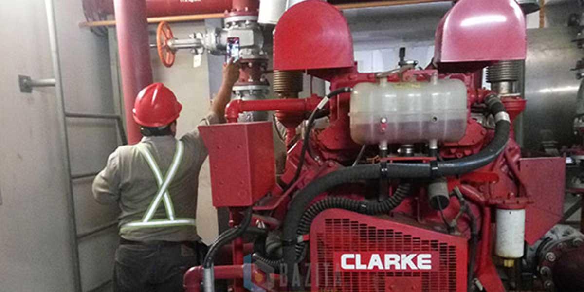 Contoh Sistem Proteksi Kebakaran Aktif dan Pasif