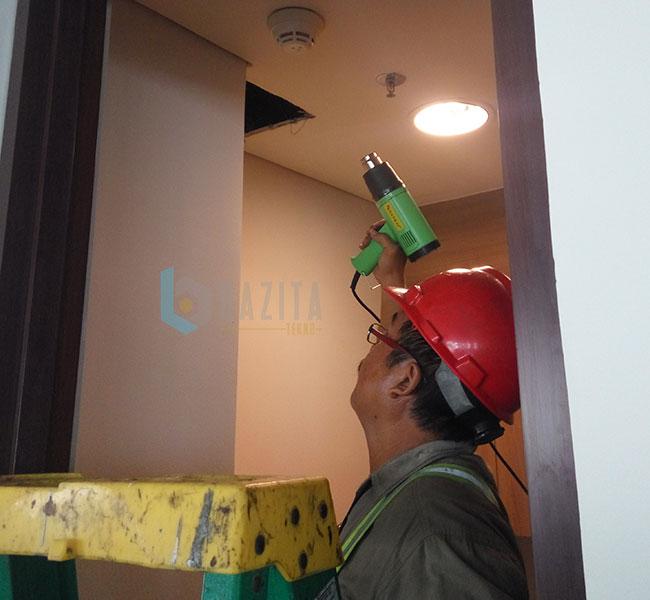 Capital Place -  Riksa Uji K3 Fire Alarm System