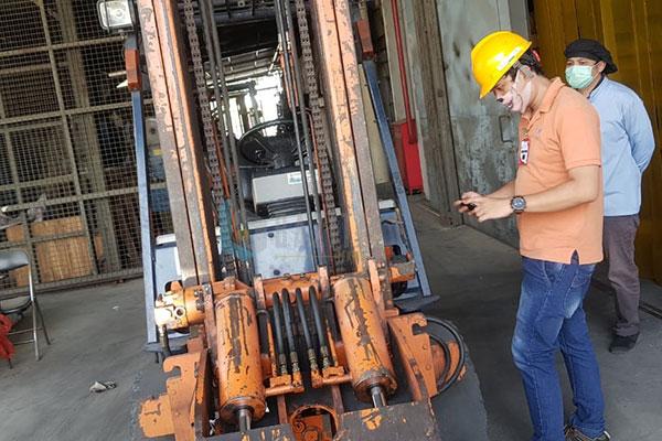 PT Satya Liprindo - Riksa Uji K3 Claw Forklift