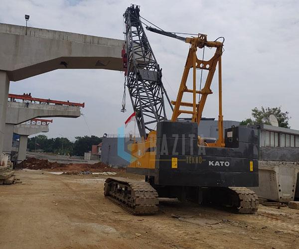 PT Waskita Beton - Riksa Uji K3 Crawler Crane